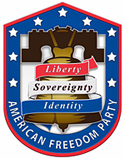 American Freedom Party logo